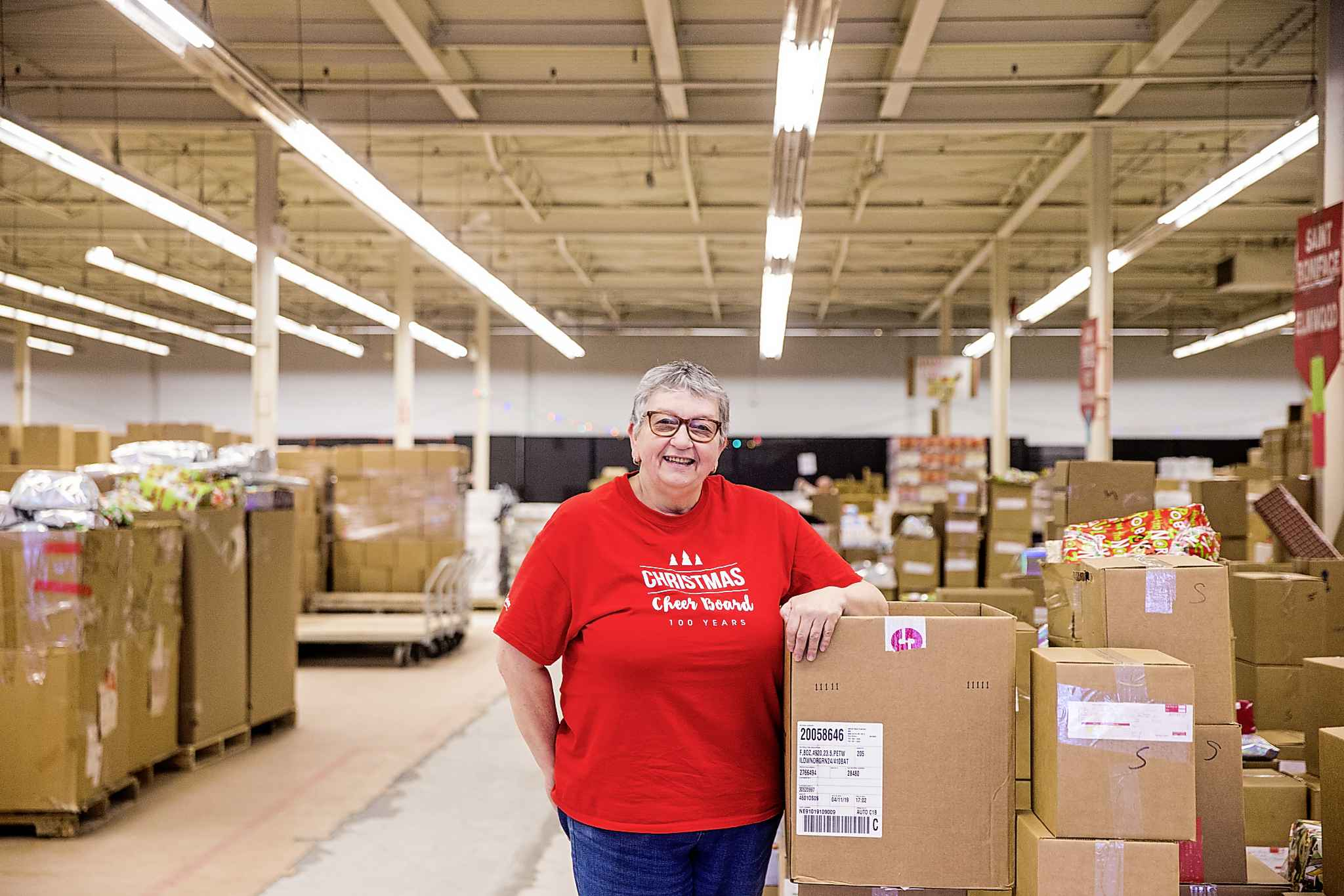 MIKAELA MACKENZIE / WINNIPEG FREE PRESS</p><p>Volunteer co-ordinator Debra Halligan.</p>