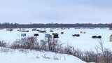 Two ice fishers dead on Red River north of Winnipeg