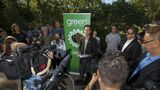 Greens tout carbon tax, guaranteed income, better health care in campaign platform