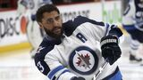 Jets, Byfuglien part company; wife posts emotional message to team, city