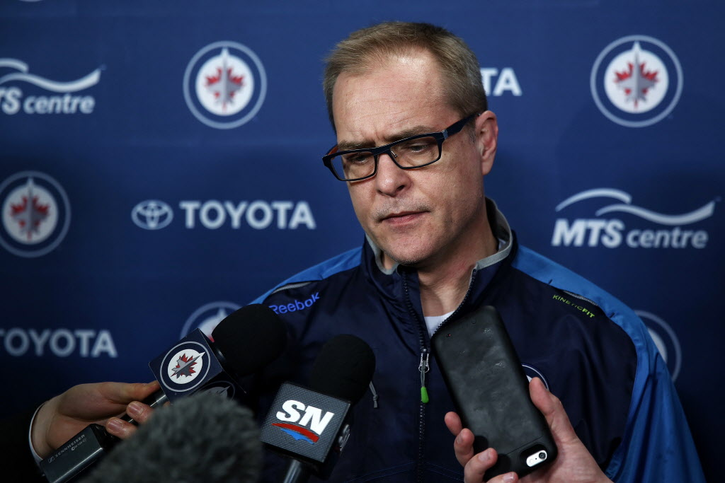 Paul Maurice had steam coming out of his ears.