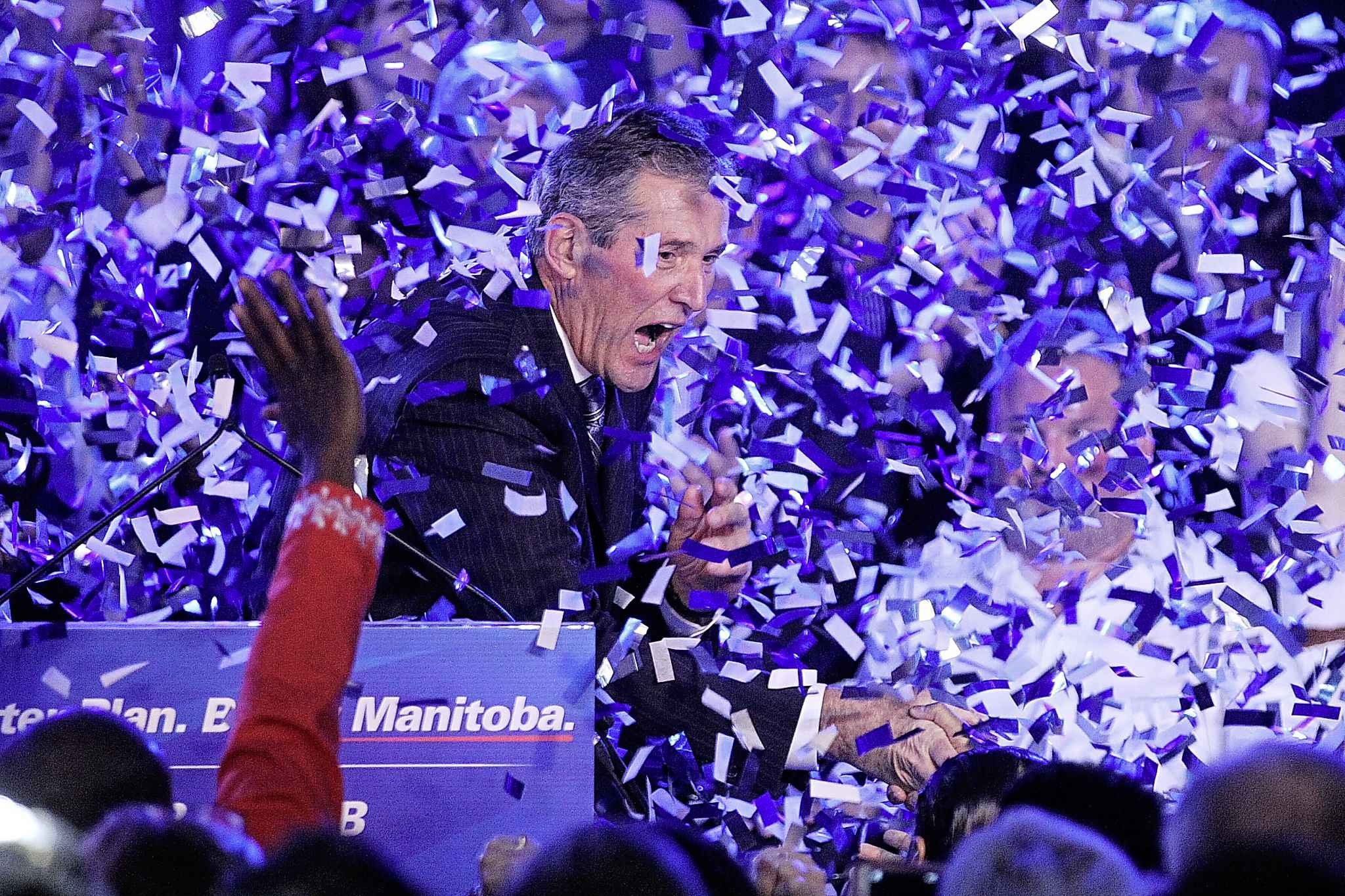 The 2016 election was one Brian Pallister could not lose, and it's hard to see his party losing the next one with both the NDP and Liberals in rebuilding mode. (Mike Deal / Winnipeg Free Press files)