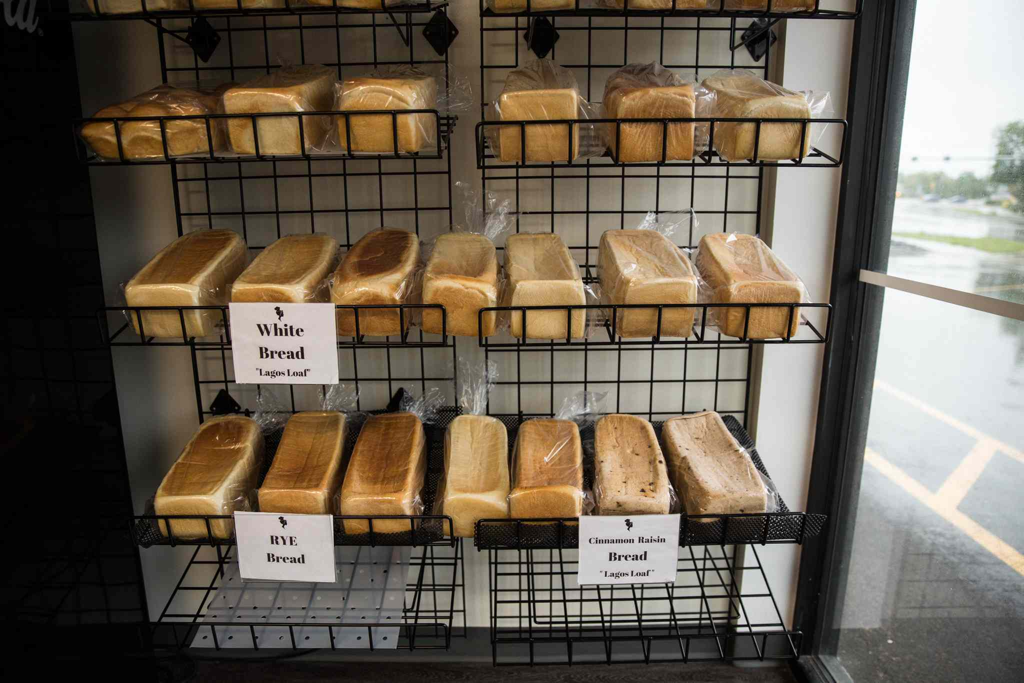 MIKE DEAL / WINNIPEG FREE PRESS </p><P>The bakery sells three kinds of Agege bread -- white, whole-wheat and rye -- as well as other baked goods.