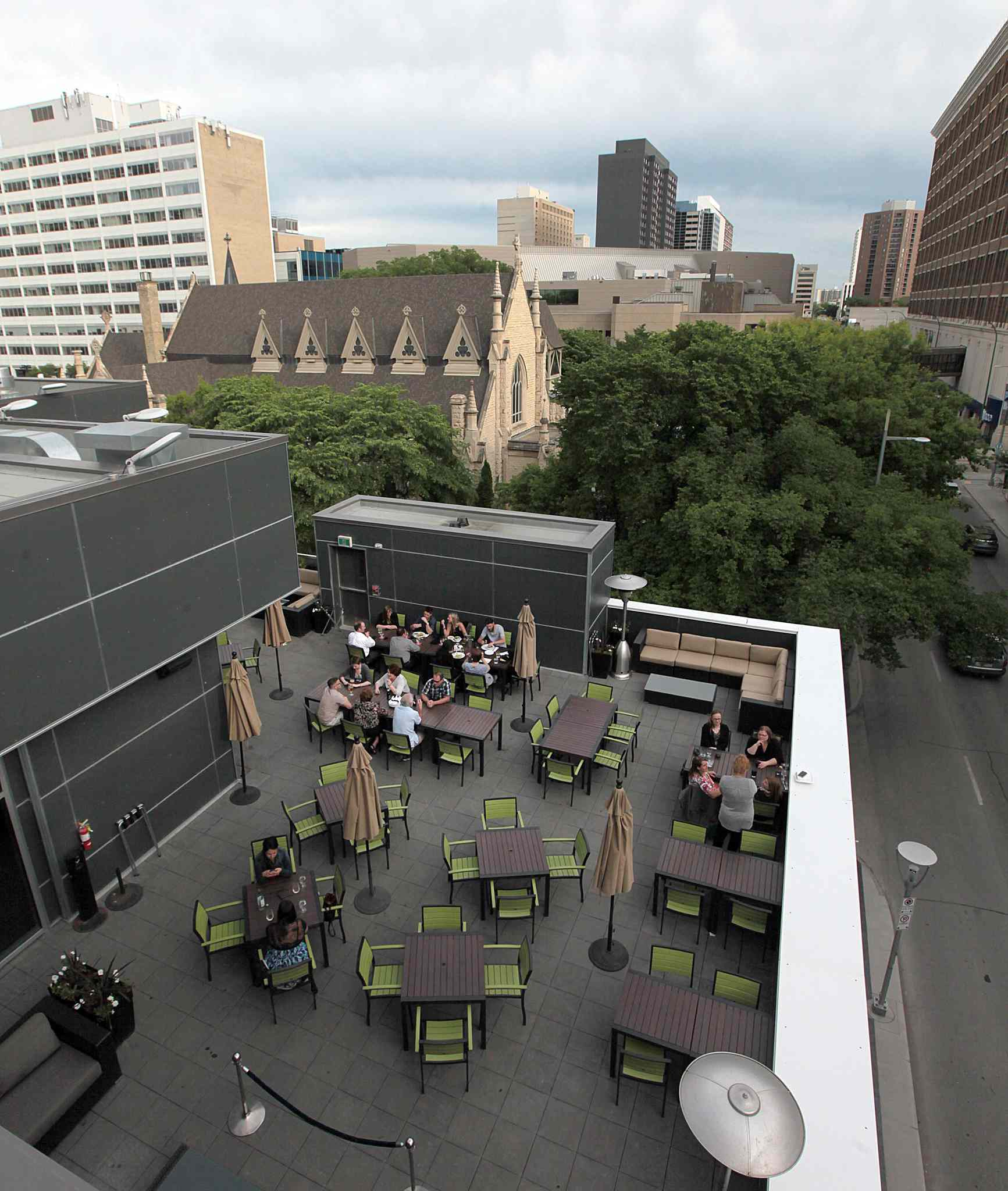 Movin On Up Winnipeg Free Press - Rooftop patios