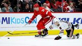Bright-spot Fabbri scores and Red Wings 2-1 beat Blackhawks