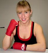 "Olivia ""The Predator"" Gerula will get a shot at the IWBF super featherweight championship on May 24 in New York against the undefeated Ronica Jeffrey."