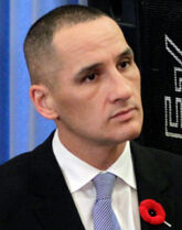 Kevin Chief, Minister of Jobs and the Economy
