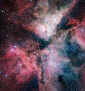 Nebulae can be small, enough to form a single star, or huge, forming thousands of stars. The Carina Nebula is one of the monsters.