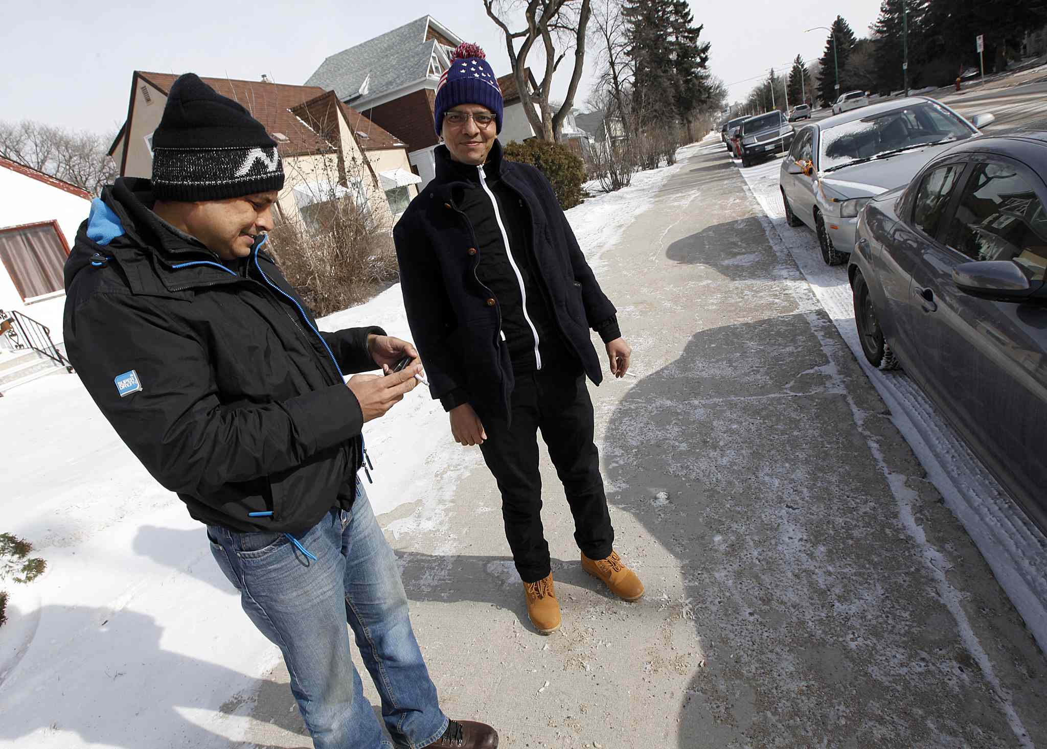 Both men plan to live in Winnipeg if they're allowed to remain in Canada.
