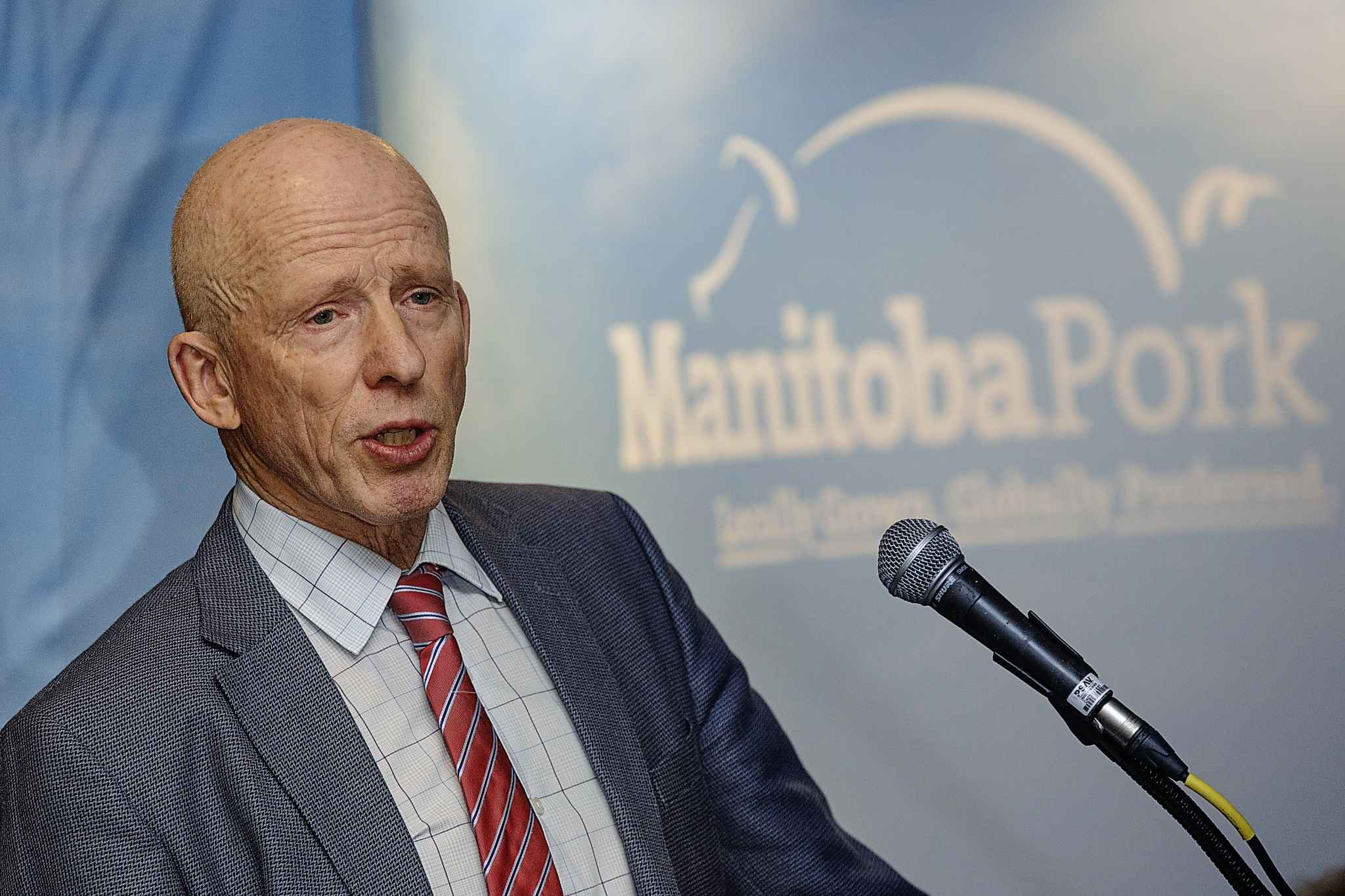 George Matheson, chairman of the The Manitoba Pork Council said permit changes 'will render the program pointless for most employers and do nothing to resolve the shortfall' in agriculture.