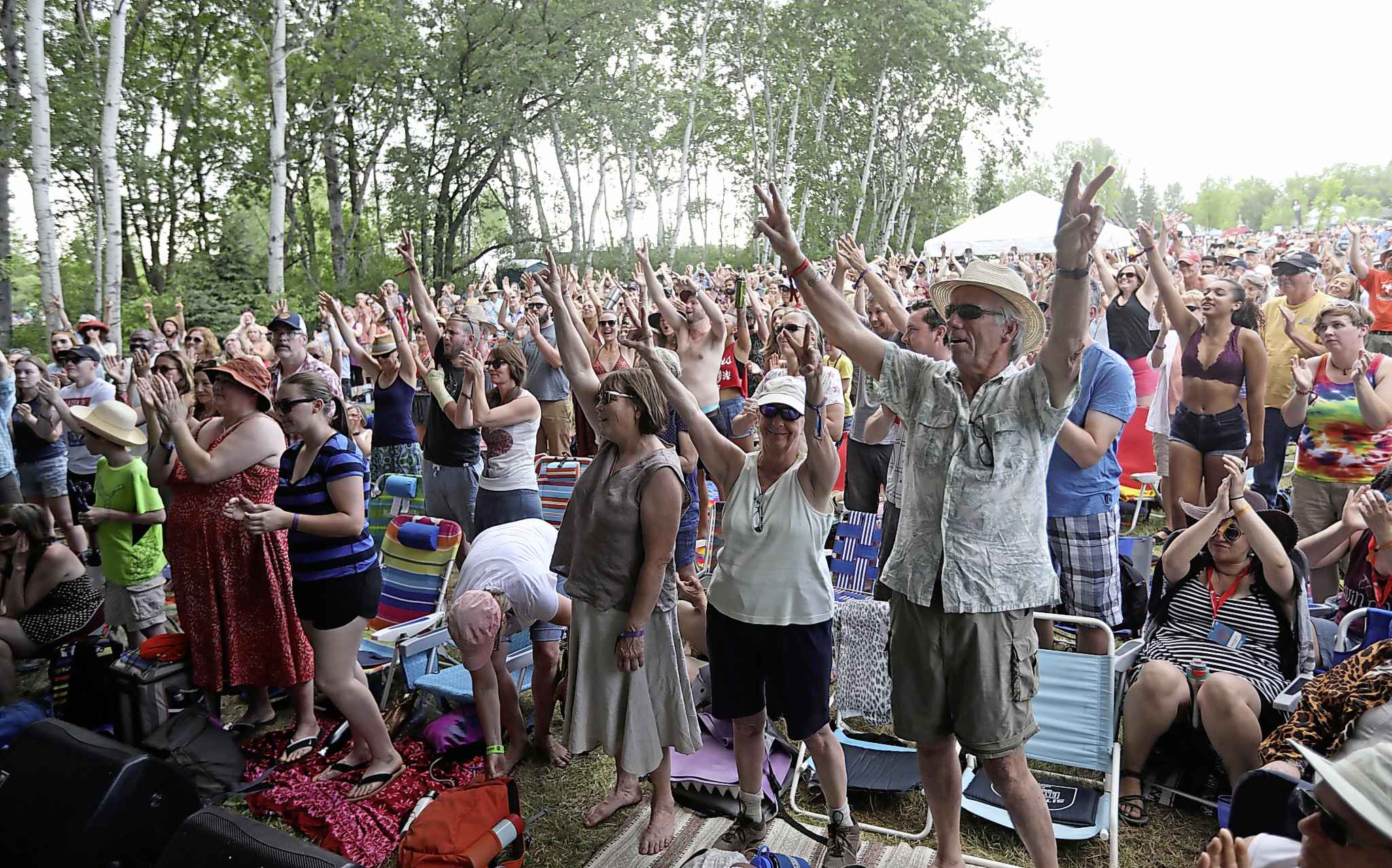 Koshinsky says she hopes the folk fest can find its heart and soul again. (Ruth Bonneville / Winnipeg Free Press files)