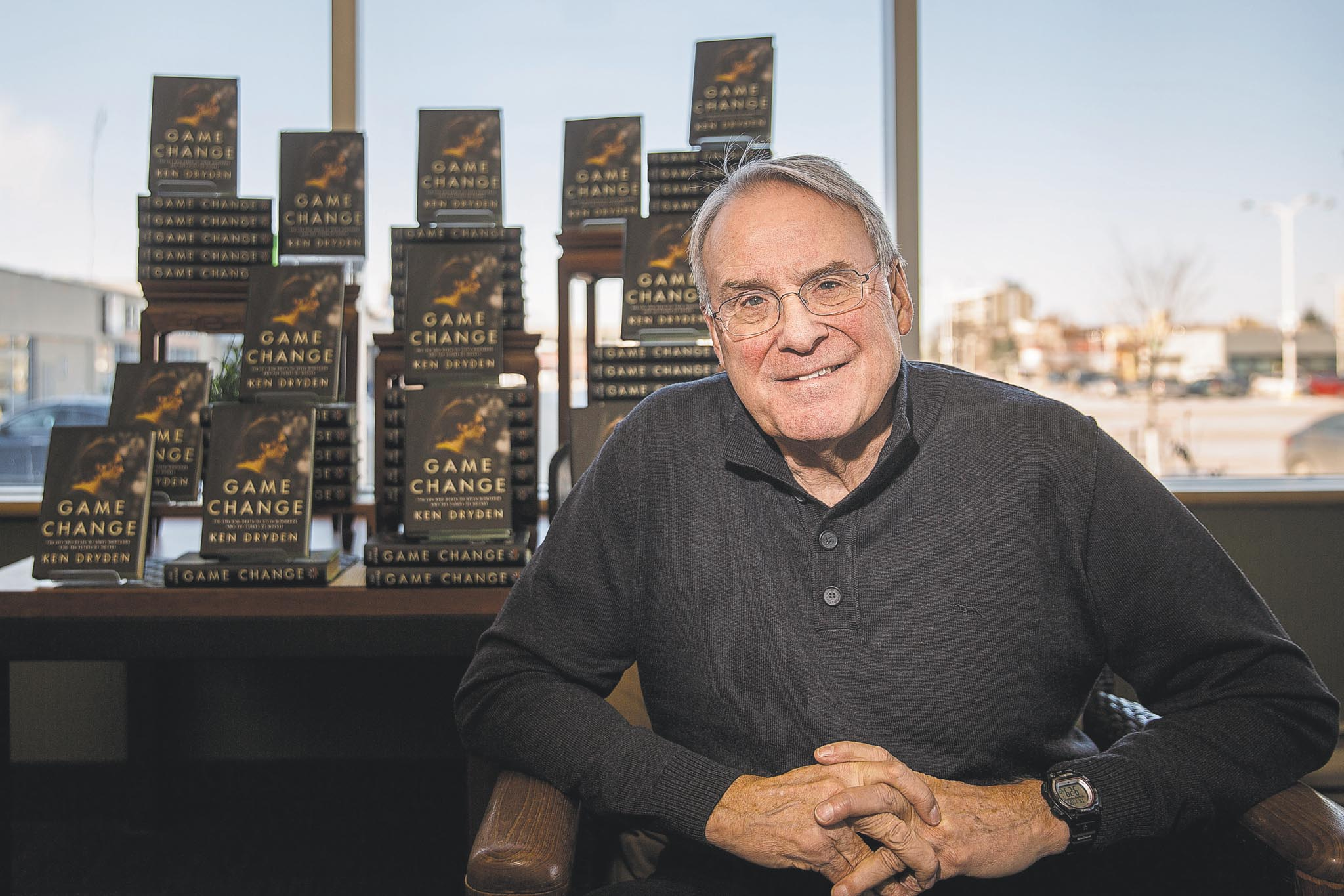 Ken Dryden achieved success and fame in multiple career endeavours — as a hockey player, a member of Parliament and an author — but insists he's never worked a day in his life.