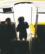As kids take to local rinks this winter for hockey season, Winnipeg police will be dropping by to promote safety and fun.