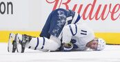 Maple Leafs regroup with Zach Hyman out at least two weeks. William Nylander misses team meeting