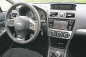 The Impreza can be equipped  with either a  five-speed manual transmission or a CVT automatic.