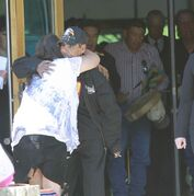 The funeral for Faron Hall took place at Thunderbird House Wednesday morning.