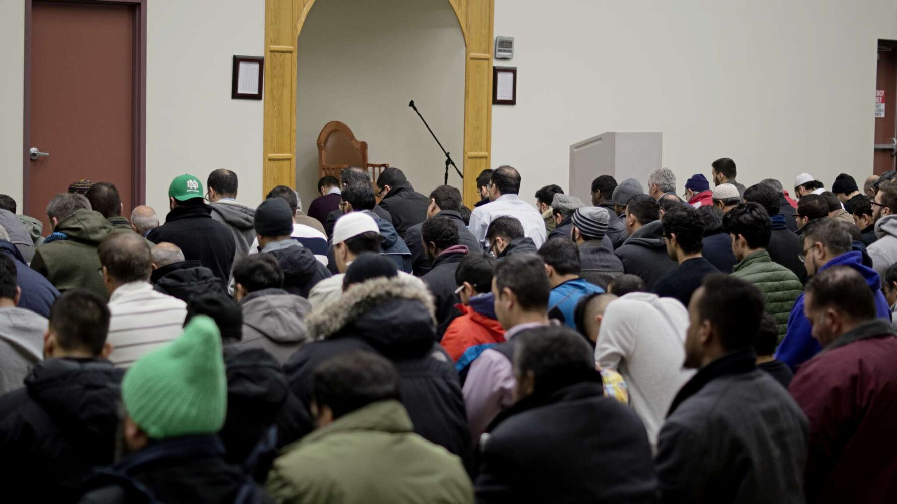 A special prayer was held at the Winnipeg Grand Mosque (2445 Waverley St.)  to mourn the six people who died and 19 more injured when a shooter opened fire at the Centre Culturel Islamique de Québec. (Danielle Da Silva - Sou'wester)