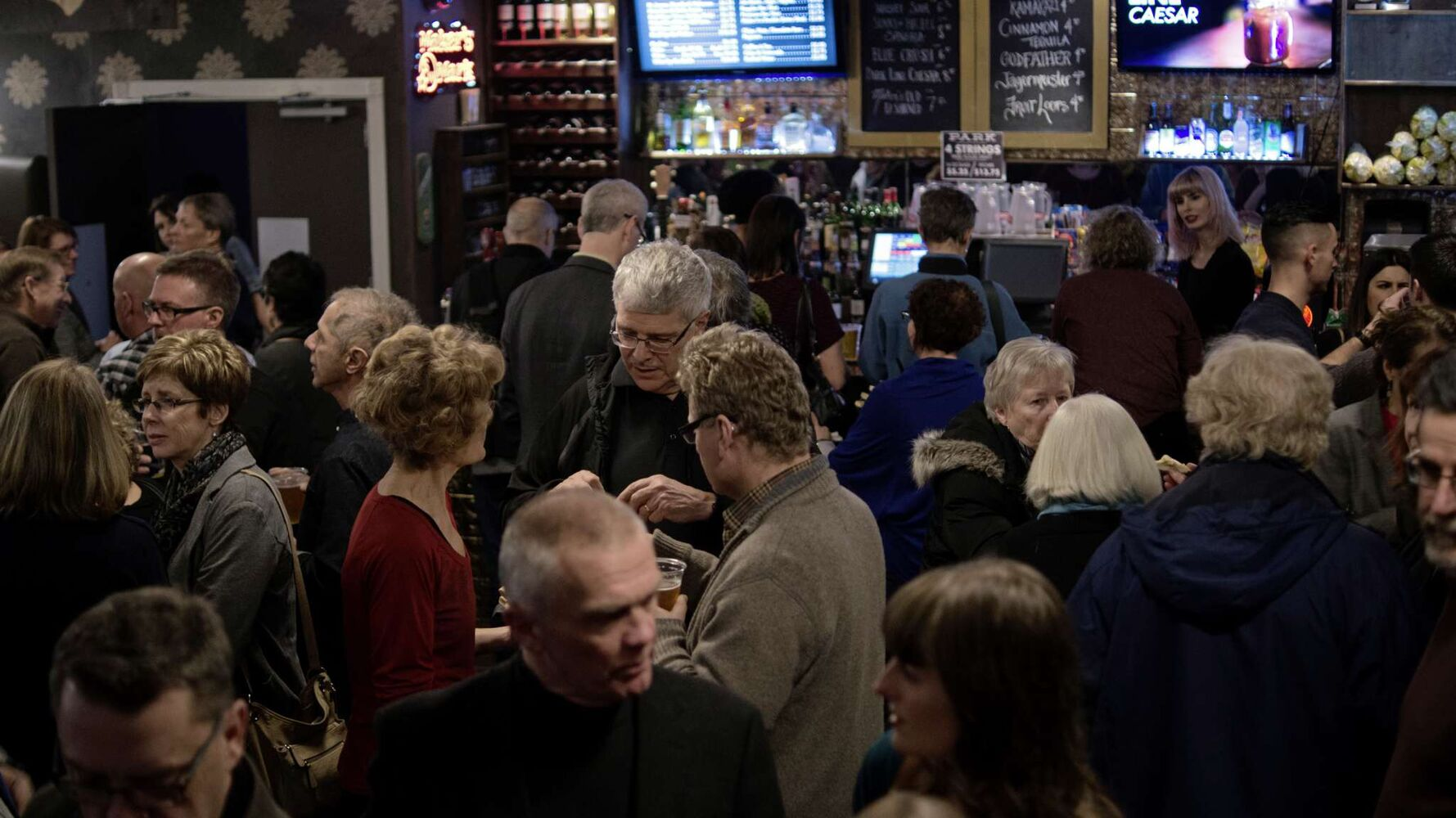 Approximately 350 people turned out to support the benefit concert at The Park Theatre. (Danielle Da Silva - Sou'wester)