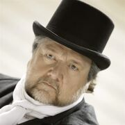 Tenor Ben Heppner poses for a photo dressed as Captain Ahab for a in advance of the opera