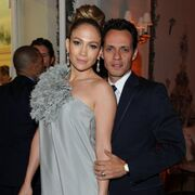 Marc Anthony and Jennifer Lopez in happier times