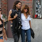 Russell Brand and Jemima Khan