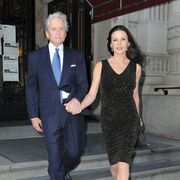 Michael Douglas with Catherine Zeta-Jones