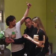 Louis Tomlinson with mystery woman