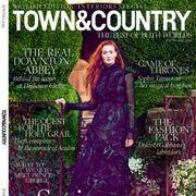 Sophie Turner on the cover of Town and Country magazine