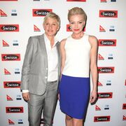 Ellen DeGeneres with wife Portia de Rossi