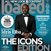 Idris Elba on Loaded cover