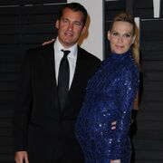 Molly Sims with husband Scott