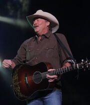 Country music star Alan Jackson plays at the MTS Centre.