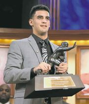 kelly kline / heisman trustOregon quarterback Marcus Mariota won the Heisman with the second-highest percentage of votes in the trophy�s history.