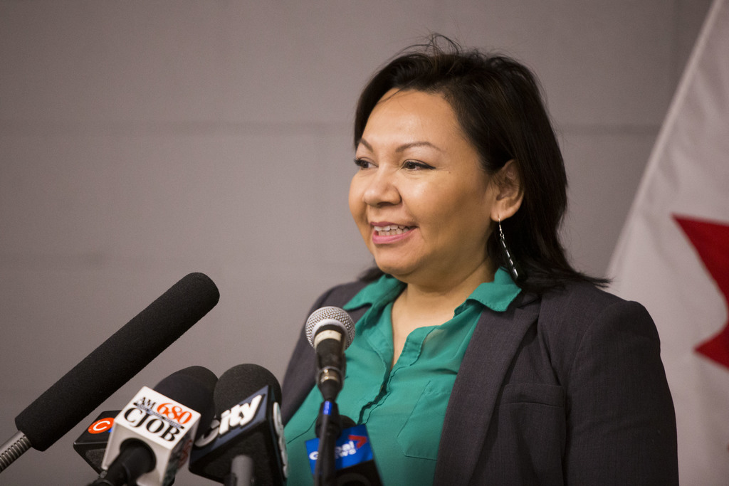 Former Manitoba Keewatinowi Okimakanak grand chief Shelia North tested negative for COVID-19 in March after travelling, then visiting Nelson House. (Mikaela MacKenzie / Winnipeg Free Press files)