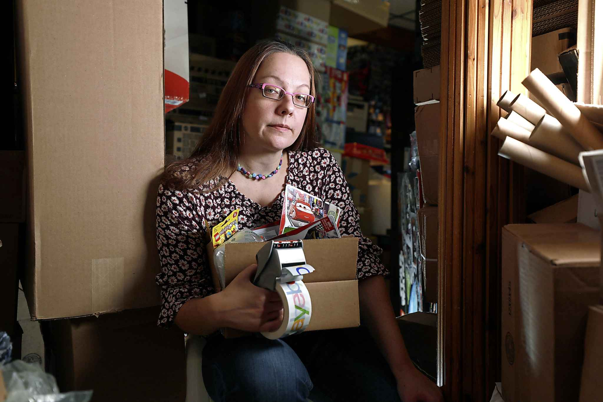 Maureen Lyons runs a toy shipping business out of her home and relies exclusively on Canada Post.