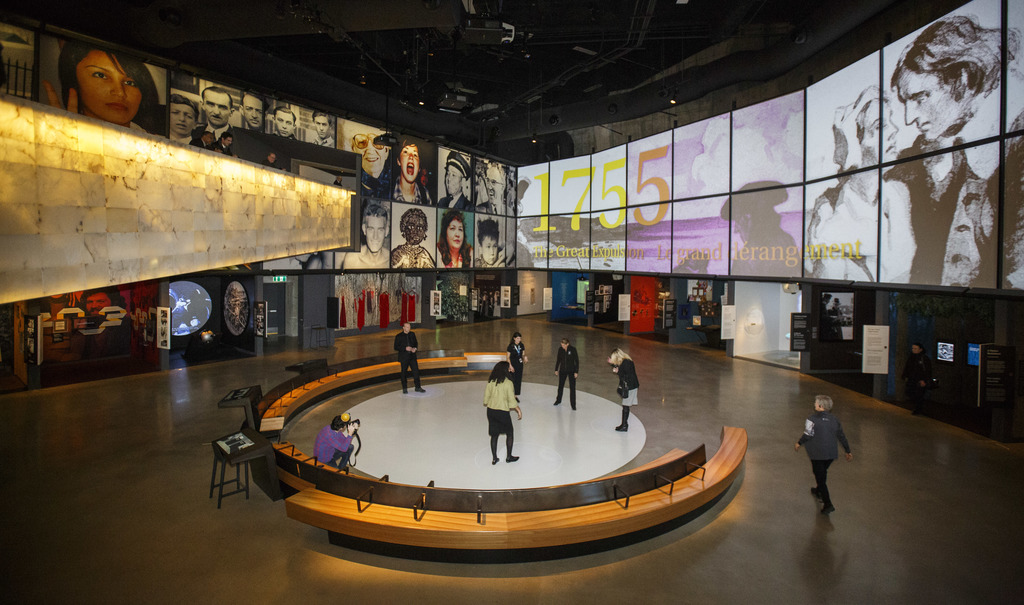 The CMHR hopes its online engagement efforts will create a sense of community in a time of isolation. (Mike Deal / Winnipeg Free Press)