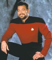 It's a safe bet that Jonathan Frakes is wearing different clothes in Devil's Gate.