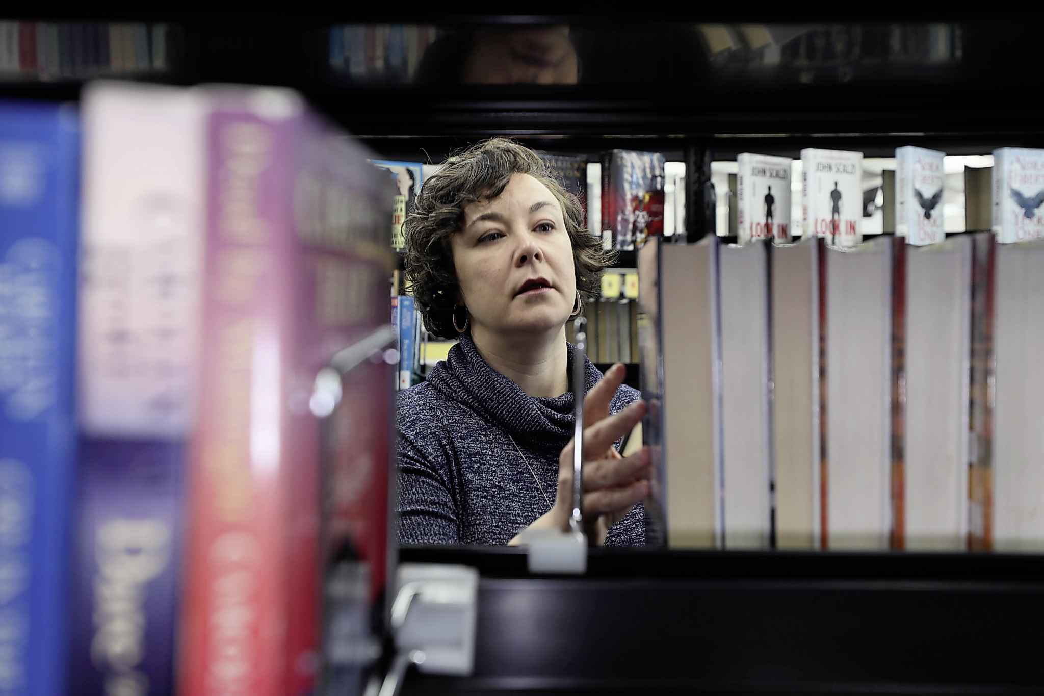 These days, Winnipeg libraries are about more than books, says Danielle Pilon, head of reader services. (Ruth Bonneville / Winnipeg Free Press files)