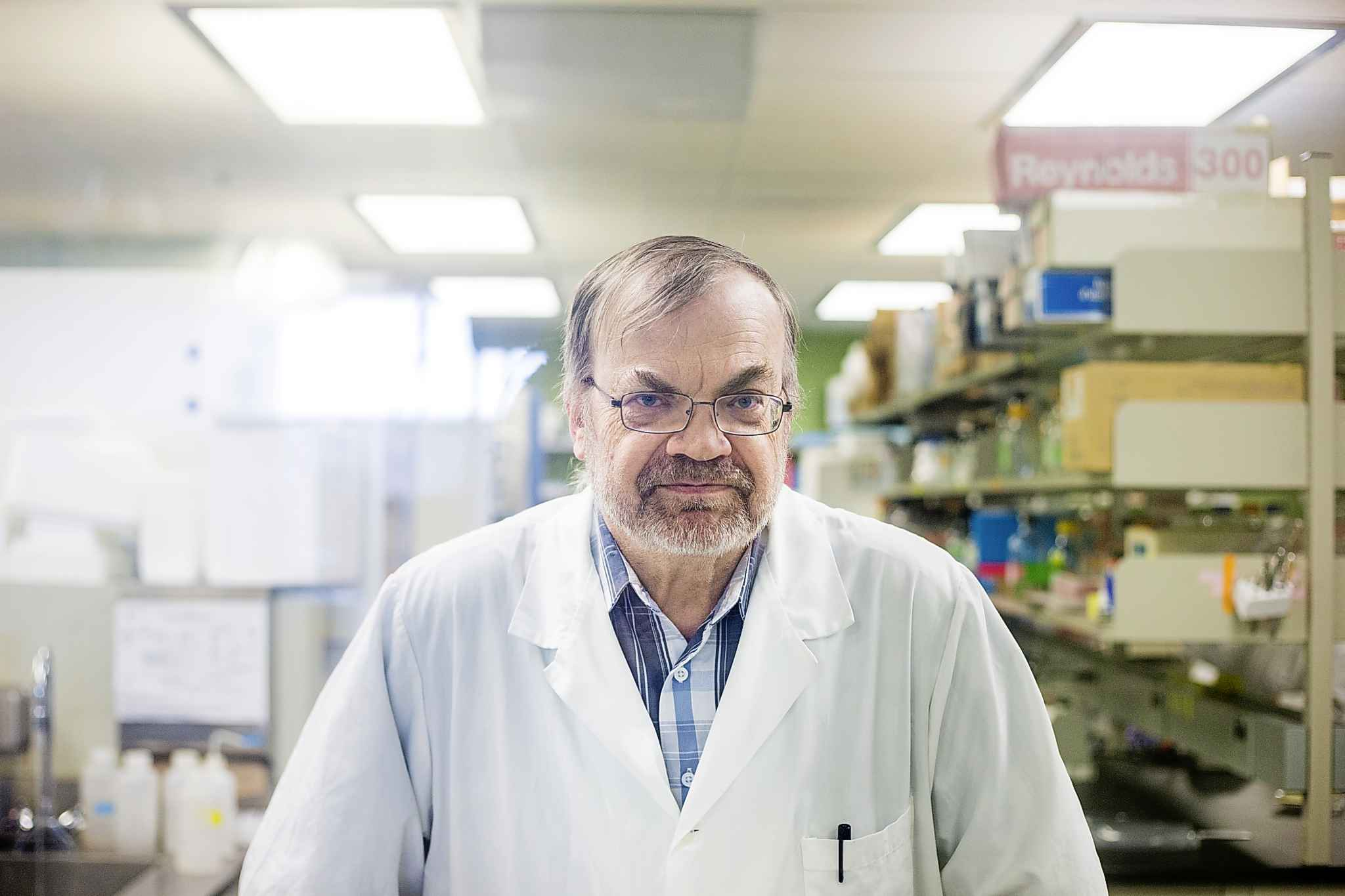 Kevin Coombs, a professor of medical microbiology at the University of Manitoba, said he is fascinated by the way something so small can cause so much misery.