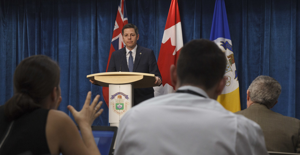 Winnipeg Mayor Brian Bowman responds: It's a 'partisan, politically motivated' attack on the city.