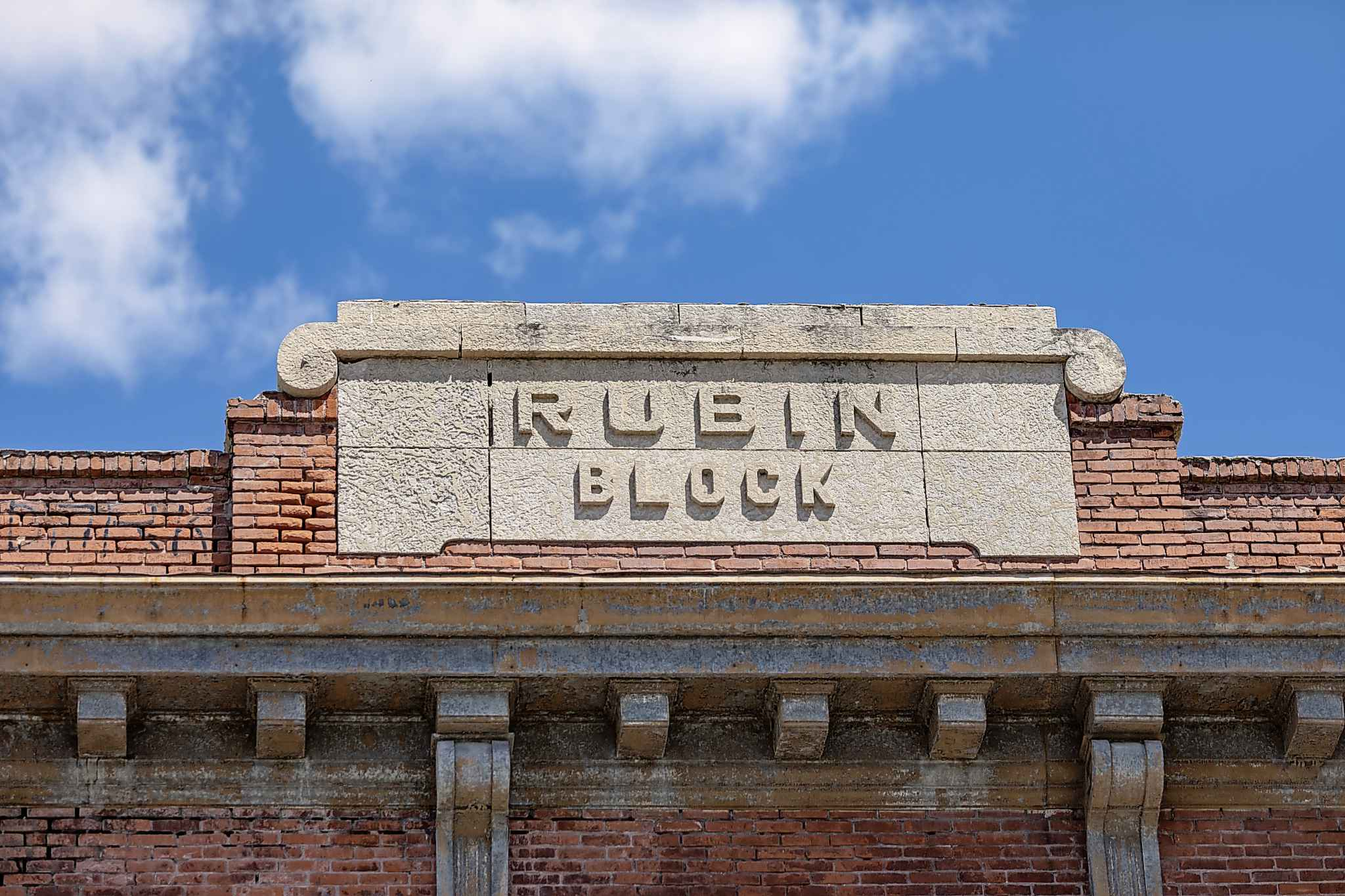 The abandoned Rubin Block is located at 270 Morley Ave. in Riverview.