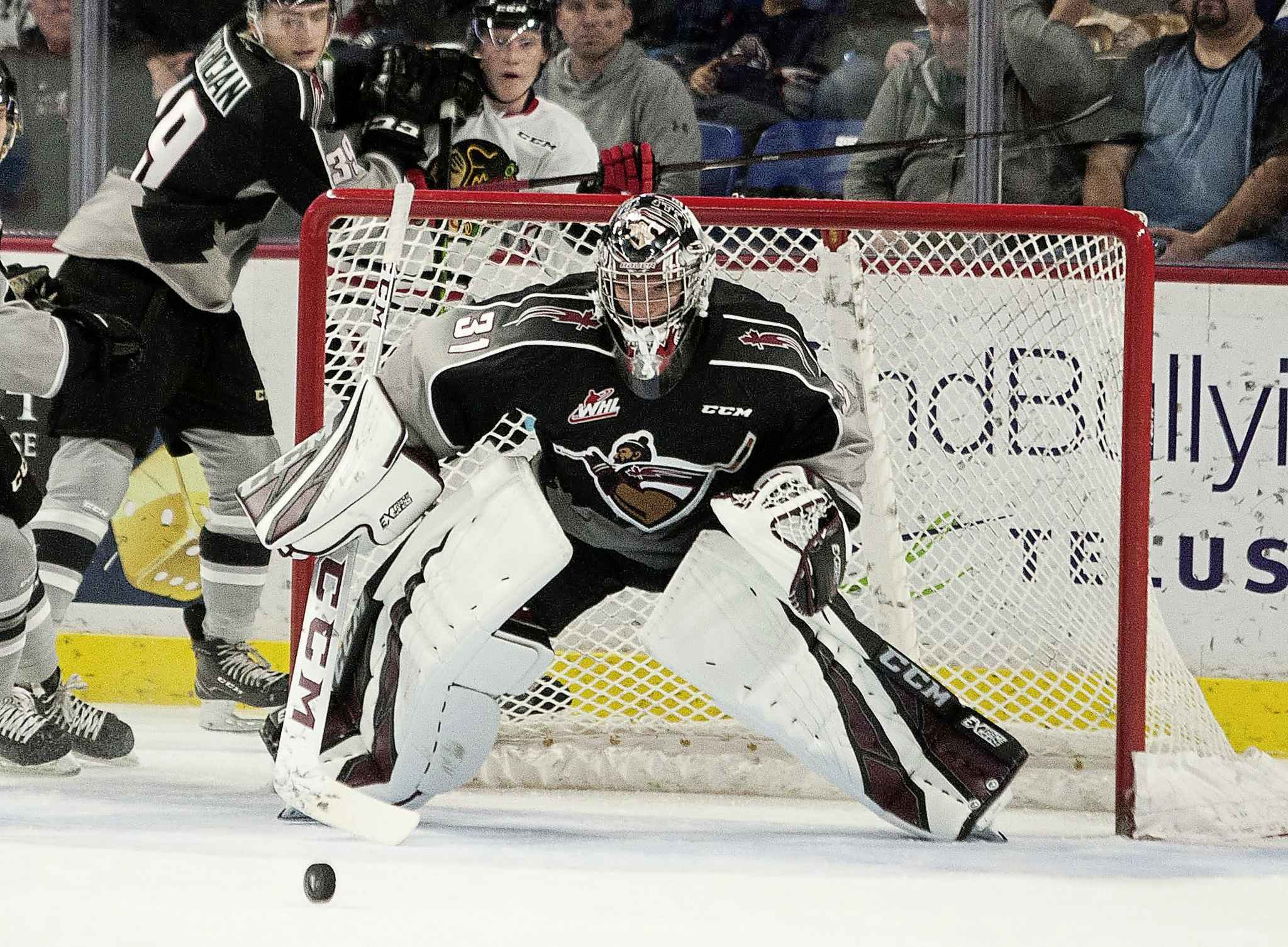 COURTESY OF THE VANCOUVER GIANTS</p><p>Trent Miner will now fly to Denver and participate in the Avalanche's rookie development camp next week.</p>