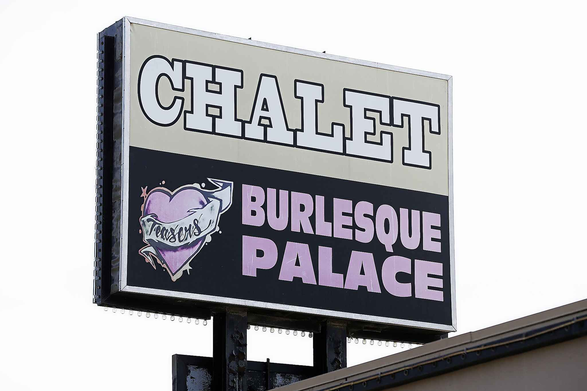 The Chalet Hotel houses Teasers Burlesque Palace.