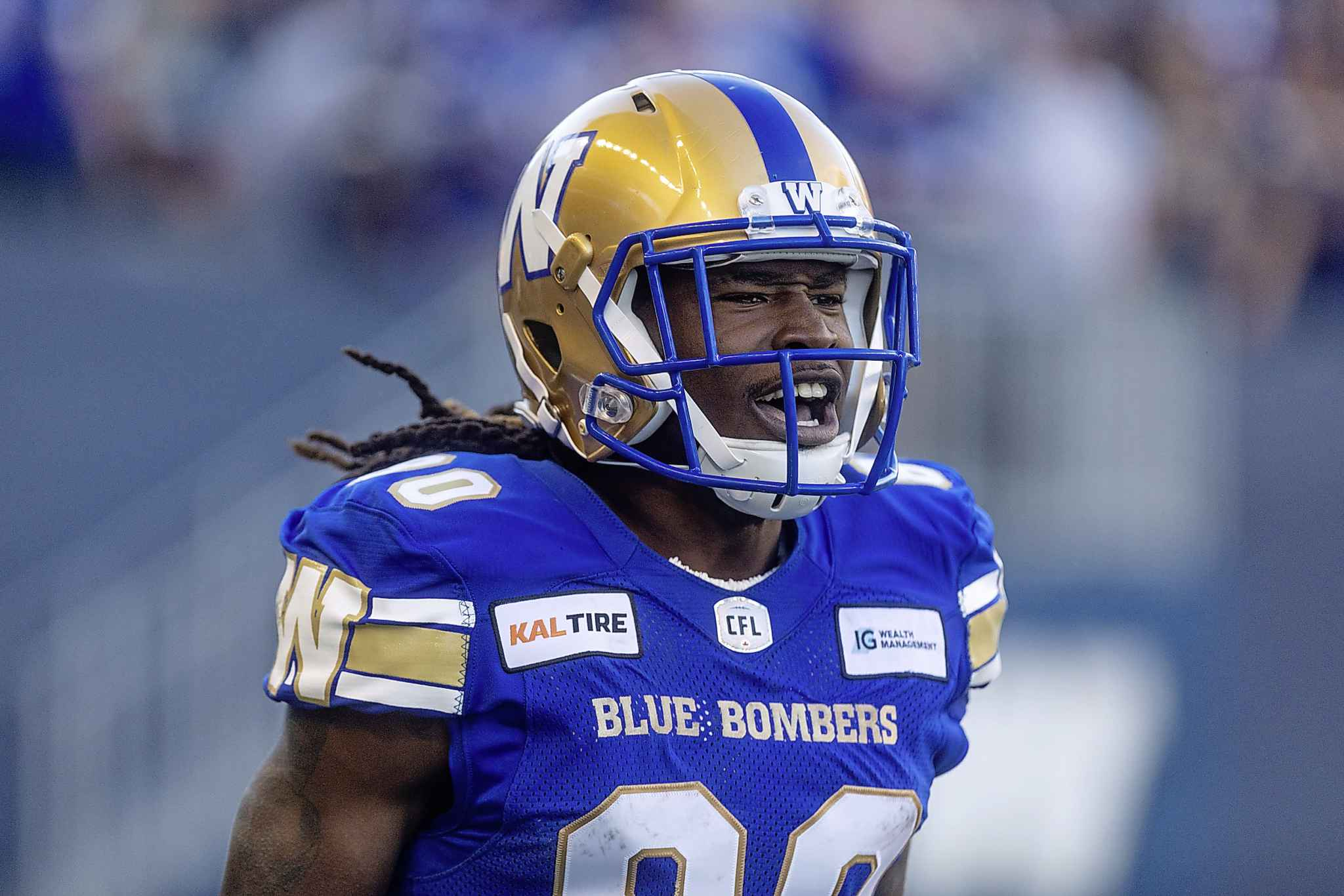 The 76-yard return was the first time Janarion Grant had touched a ball in a CFL regular-season game. (Sasha Sefter / Free Press files)