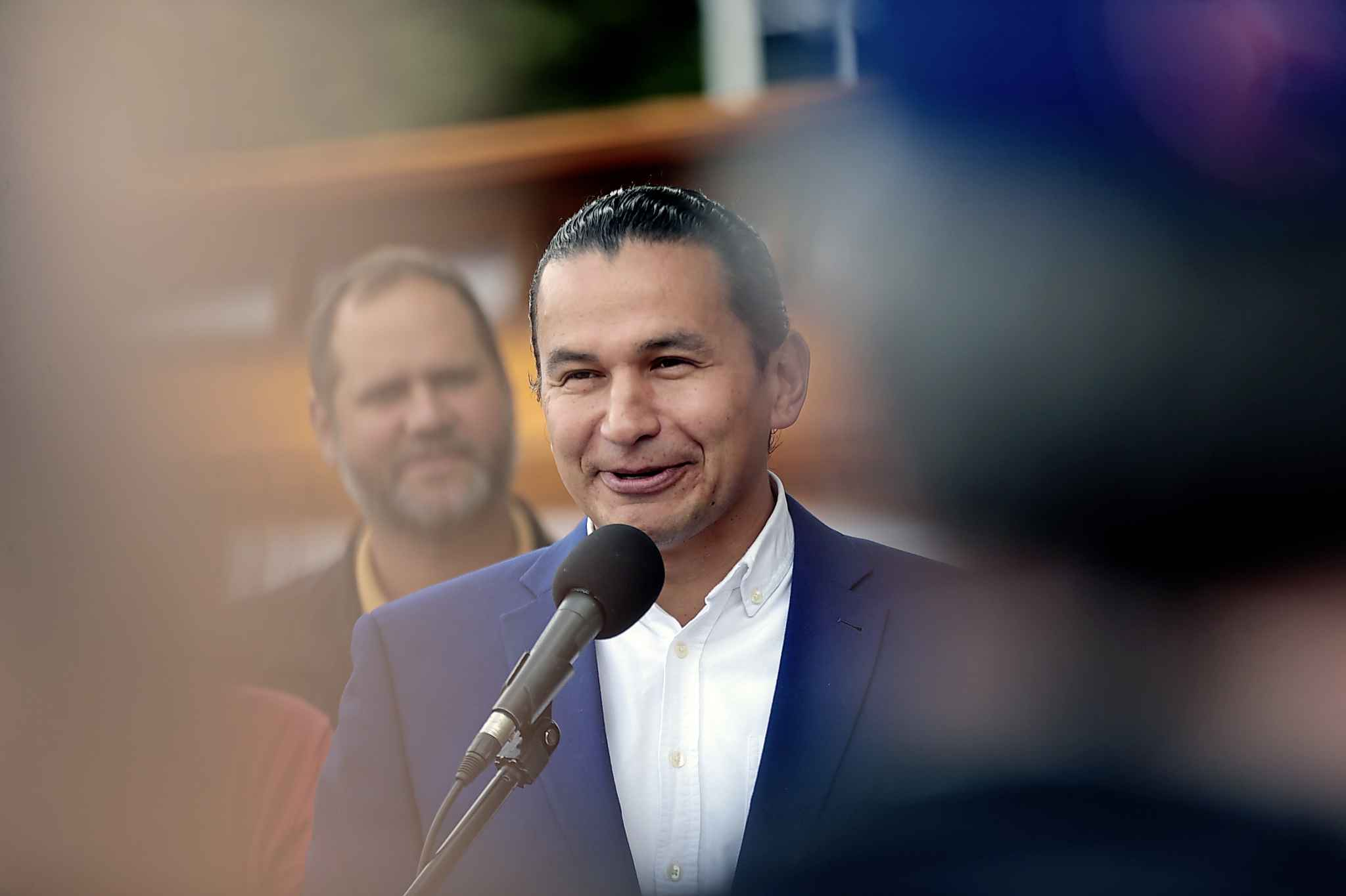 Allegations of assault and misogynist rap lyrics from his past aren't hurting NDP Leader Wab Kinew's popularity with older NDP women voters, but are damaging his popularity among younger, NDP-partisan voters, the poll says.