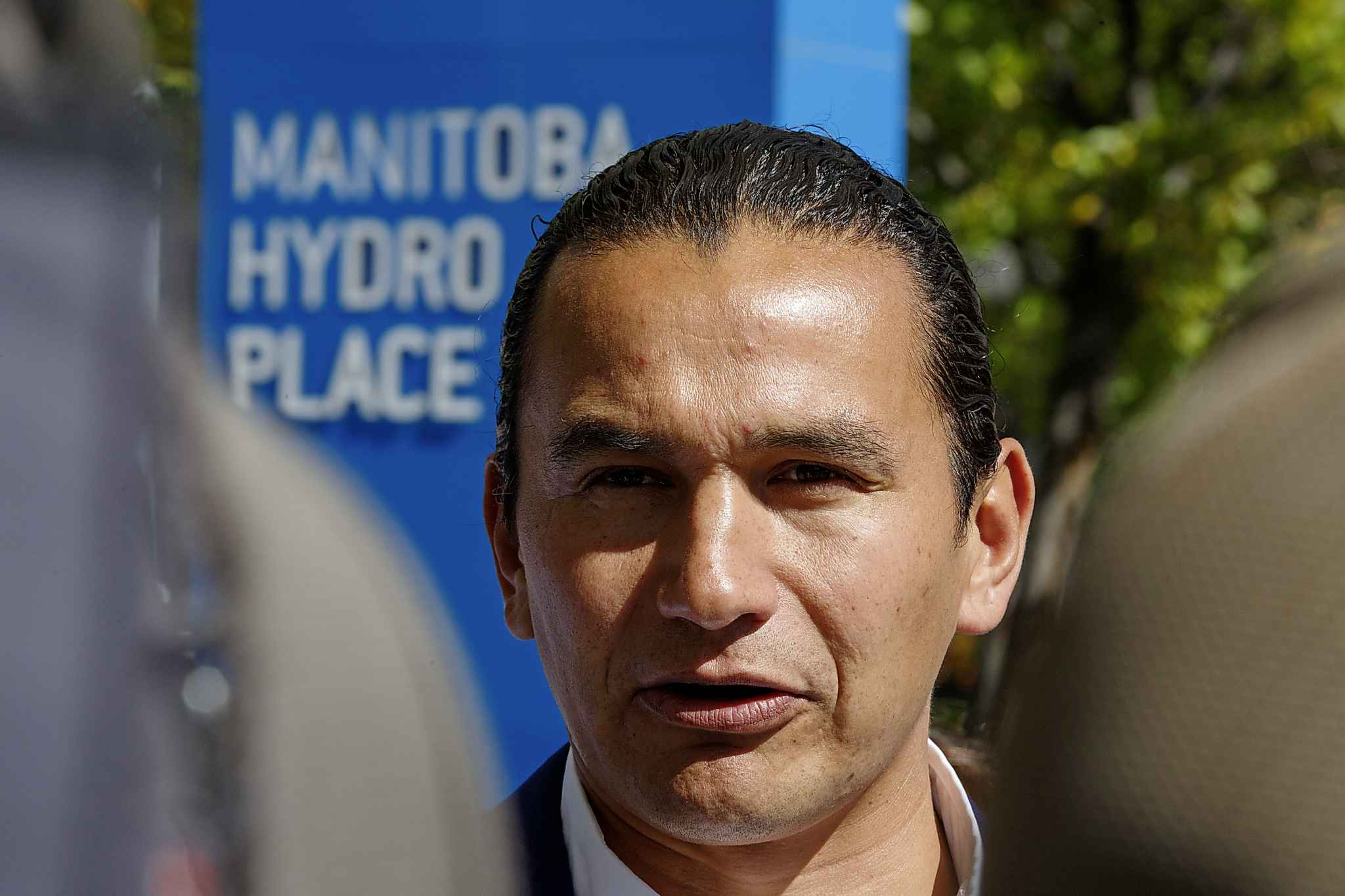 Manitoba NDP Leader Wab Kinew said the announcement of a new review of Manitoba Hydro's operations has raised the spectre that parts or all of Manitoba Hydro will be privatized.