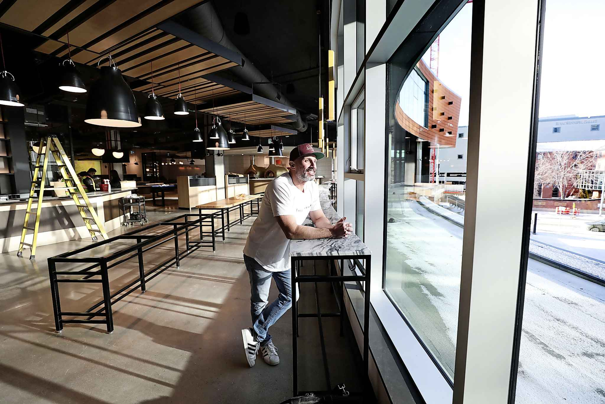 """""""It's our interpretation of what an urban-style cocktail bar is,"""" Mottola says of Rose Bar. (Ruth Bonneville / Winnipeg Free Press)"""
