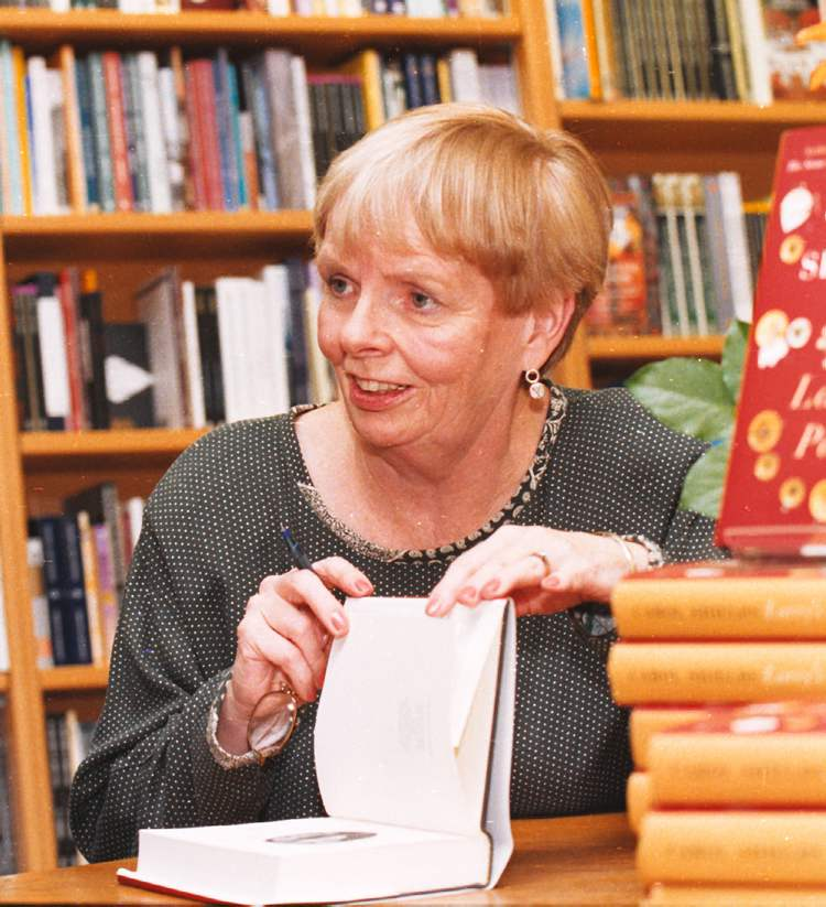 June 19, 2001: Carol Shields signs copies of her novel Larry's Party at McNally Robinson