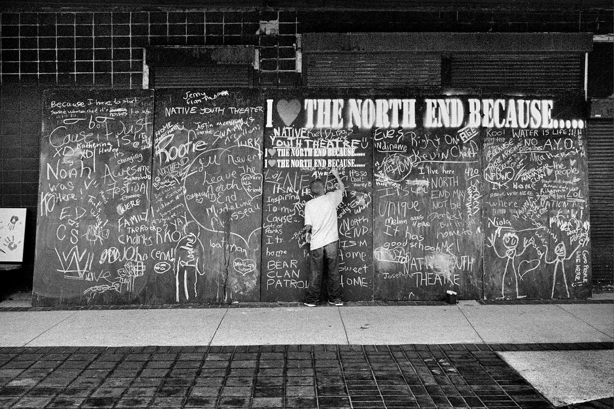 Image from the new book <I>The North End Revisited: Photographs by John Paskievich</I>