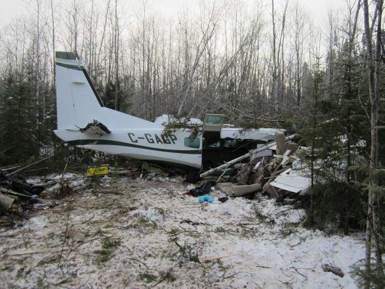 Pilot and local resident Mark Gogal, son of the company owner Larry Gogal, died in the crash.  (Transportation Safety Board of Canada)